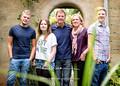 Helen, Kevin, Luke, Jamie & Emma