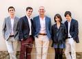 Kay, Ian, James, Allan, Adam and Olivia